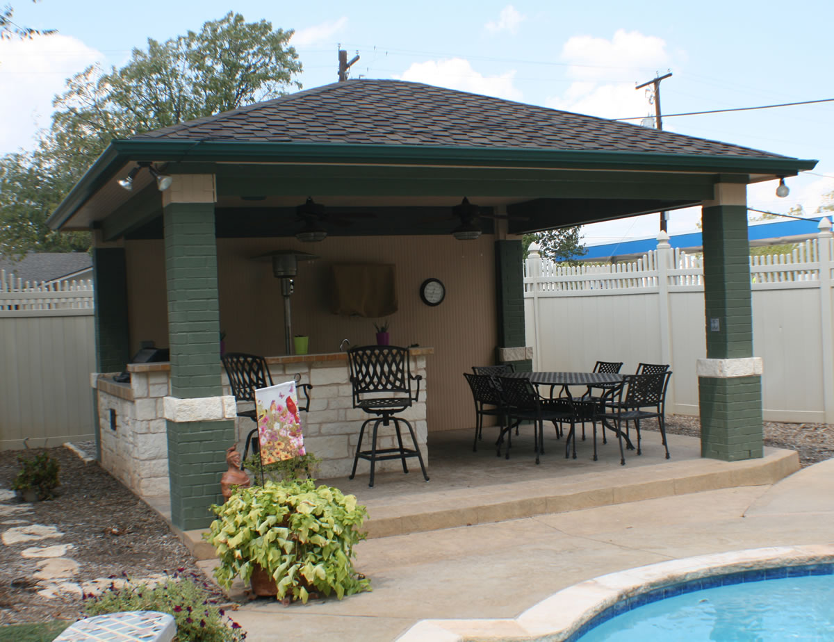 Patio covers nashville patios covers for Build a freestanding patio cover